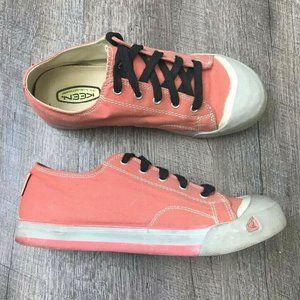 KEEN Women's Coronado Coral Canvas Walking Shoe 5